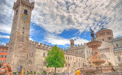 Piazza in Trento, Trentino-Alto Adige, Italy. Flickr:maurosartori