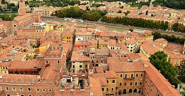 Overlooking Verona on the Adige River, Veneto, Italy. Photo via Flickr:Pedro
