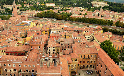 Overlooking Verona on the Adige River, Veneto, Italy. Flickr:Pedro