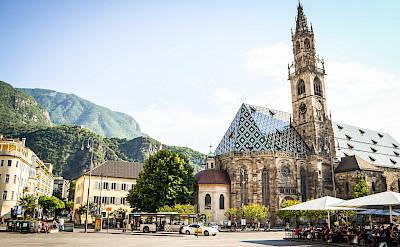 Great churches to see on the Bolzano to Verona Bike Tour. ©Photo via TO