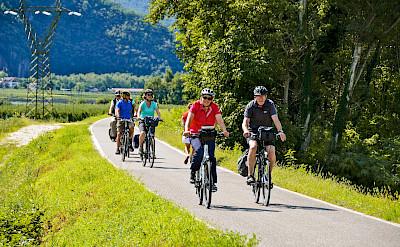 Biking the Bolzano to Verona Bike Tour. ©Photo via TO