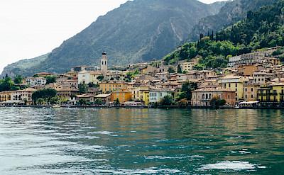 Lakeside town on Lake Garda, Italy. ©Photo via TO