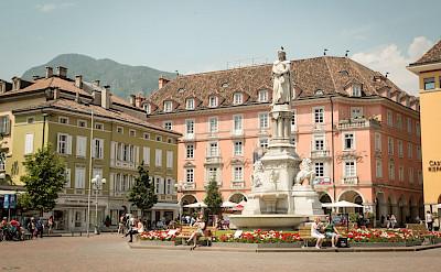 Great town en route the Bolzano to Verona Italy Bike Tour. ©Photo via TO