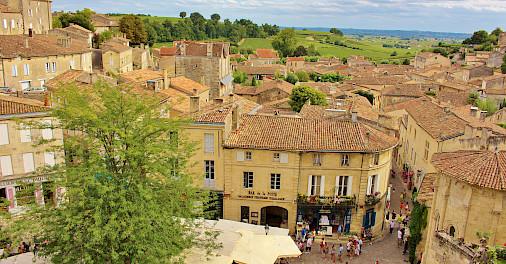 Saint-Émilion is a UNESCO World Heritage Site. Photo via Flickr:traveljunction