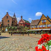 Breisgau e Rota do Vinho da Alsácia Foto