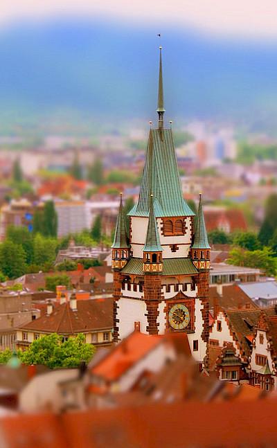 Freiburg im Breisgau is in Baden-Württemberg, Germany. Photo via Flickr:rolohauck