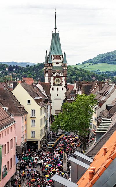 Martinstor in Freiburg im Breisgau, Germany. CC:Joergensmi