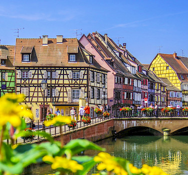 Breathtaking town of Colmar in Alsace, France. Photo via Flickr:Kiefer