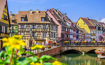 Breathtaking town of Colmar in Alsace, France. Flickr:Kiefer