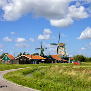 Biking outside Amsterdam in North Holland, the Netherlands. Photo via Flickr:Francesca Cappa