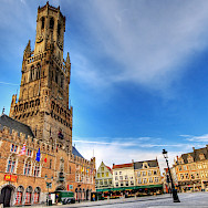 Belfort Tower in Bruges, Belgium. Photo via Flickr:Wolfgang Staudt