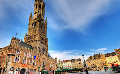 Belfort Tower in Bruges, Belgium. Flickr:Wolfgang Staudt