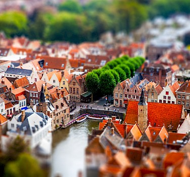 Bruges to Amsterdam