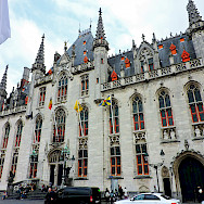 Courthouse in Bruges, West Flanders, Belgium. Photo via Flickr:Dimitris Kamaras