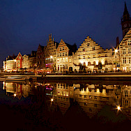 Ghent in East Flanders, Belgium has great architecture. Photo via Flickr:Sandeep Pawar
