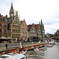 Bike rest in Ghent, East Flanders, Belgium. Flickr:Alain Rouiller