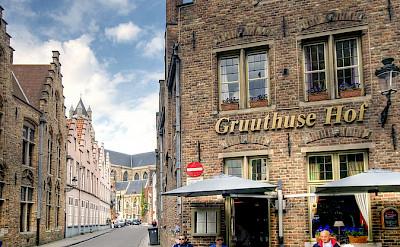 Gruuthuse Hof in Bruges, Belgium. Flickr:Wolfgang Staudt