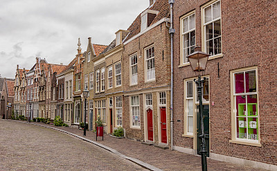 Hofstraat in Dordrecht, South Holland, the Netherlands. Flickr:Paul van de Velde