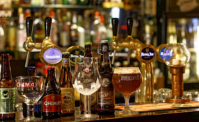 The famous Belgian beers await! ©TO