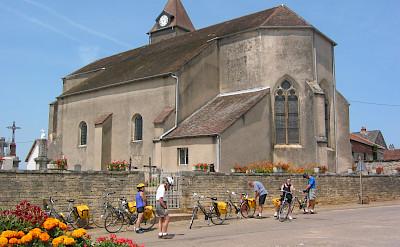 Biking in France. ©TO