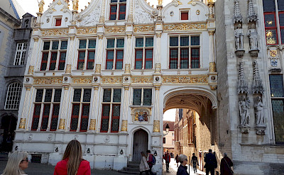 Great architecture in Bruges on this Paris to Bruges tour through France and Belgium. Photo by Eric Darwin