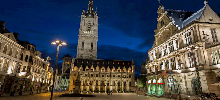 Bruges to Paris or Paris to Bruges