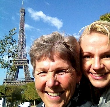 Tripsite's Hennie & Carla in Paris!