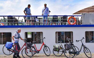 Poseidon bikes and sundeck - Bike & Boat Tours