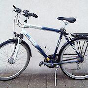 Mens' 21-speed Schauff touring bike