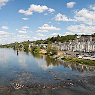 Amboise along the Loire River in France. Creative Commons:Diliff