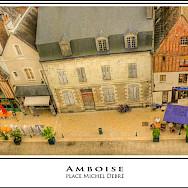 Place Michel Debre in Amboise, France. Flickr:@lain G