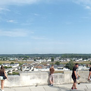 View from Château d'Amboise, France. Flickr:Maria Nemes