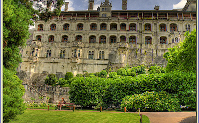 Château de Blois, the former home of several French kings. Flickr:@lain G