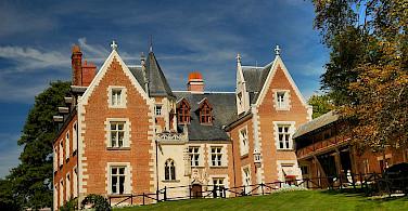 Chateau du Clos Lucé, Amboise, France. Leonardo da Vinci spent his last years here. Photo via Wikimedia Commons:Nadegevillain