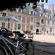 Bike rest in Chateau de Blois, France. Photo courtesy TO