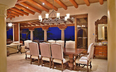 Casa Corona Dining Room Beautiful Architectural Details