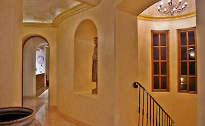 Casa Corona View Of Main Level Jr Master And Stairway Beautiful Architecture