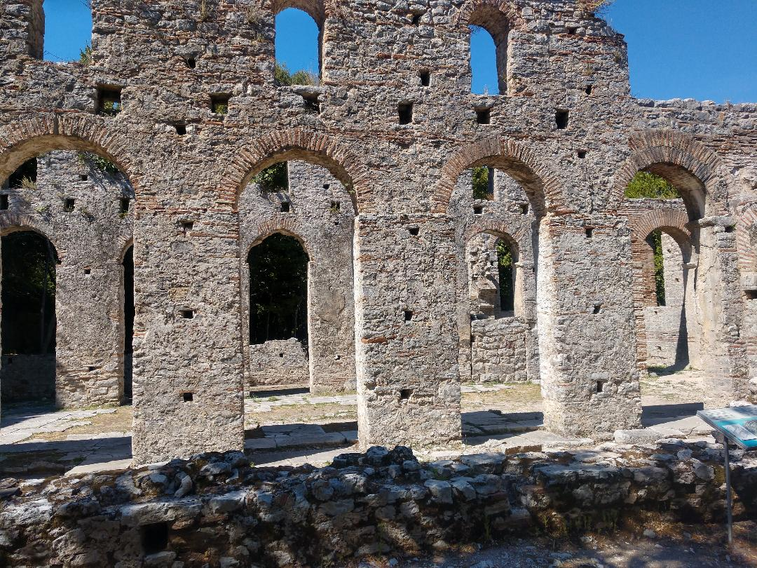 Beautiful architecture and ruins in Albania
