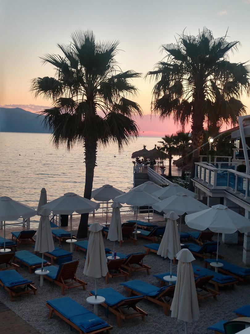 Sunset in Albainia