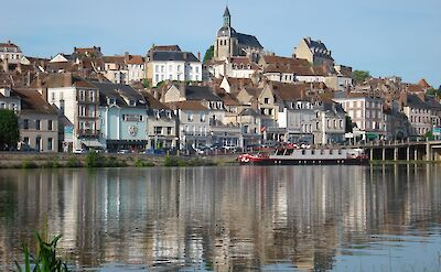 Joigny, Burgundy, France. ©TO