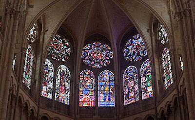 Cathédrale Saint-Etienne in Auxerre, France. Flickr:Allie_Caulfield
