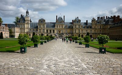 Palace of Fontainebleau in Burgundy, France. Flickr:Mark B. Schlemmer