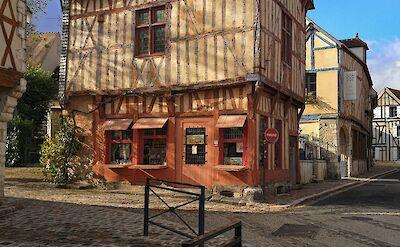 Medieval square in Provins, Burgundy, France. Flickr:Michel Craig