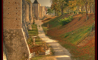 Ramparts in Provins, Burgundy, France. Flickr:@lainG