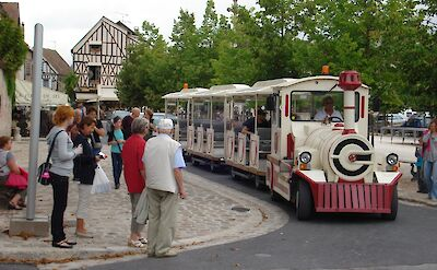 Local transportation in Provins, Burgundy, France. ©TO