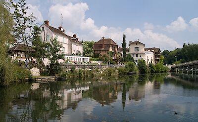 Samois-sur-Seine, Burgundy, France. ©TO