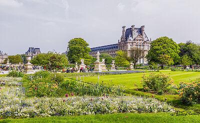 Tuileries Gardens in Paris, France. Flickr:Steven dosRemedios
