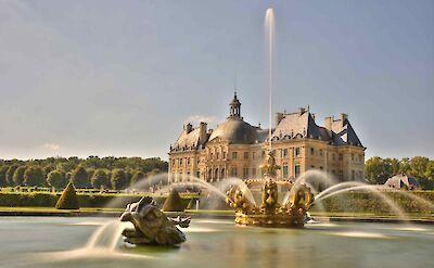 Château de Vaux-le-Vicomte, Burgundy, France. ©TO