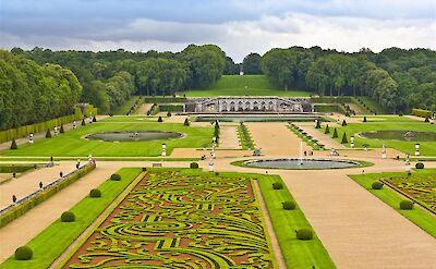 Gardens at Château de Vaux-le-Vicomte, Burgundy, France. ©TO