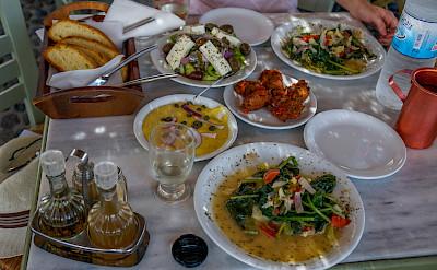 Food in Greece. Flickr:Trevor Bobowick